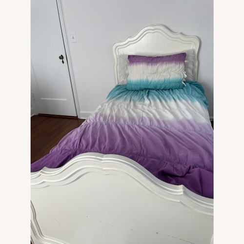 Used Stanley Furniture Twin Bed and Trundle for sale on AptDeco