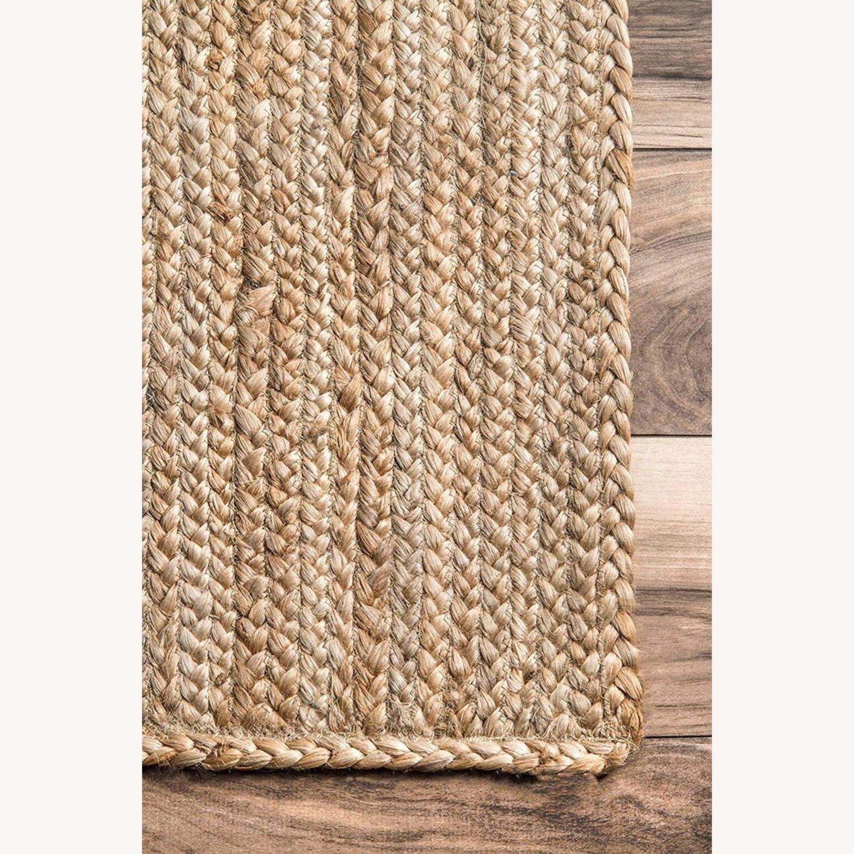 Handmade Braided Jute Area Rug 6' x 9' - image-2