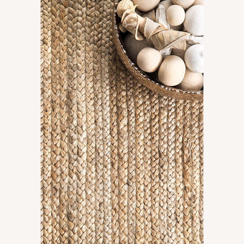 Handmade Braided Jute Area Rug 6' x 9' - image-3