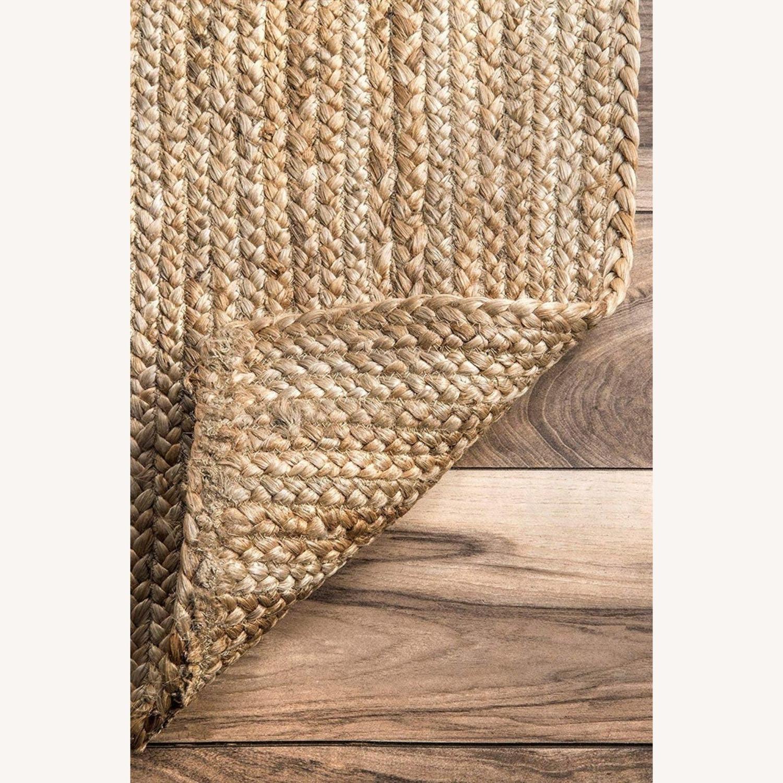 Handmade Braided Jute Area Rug 6' x 9' - image-4
