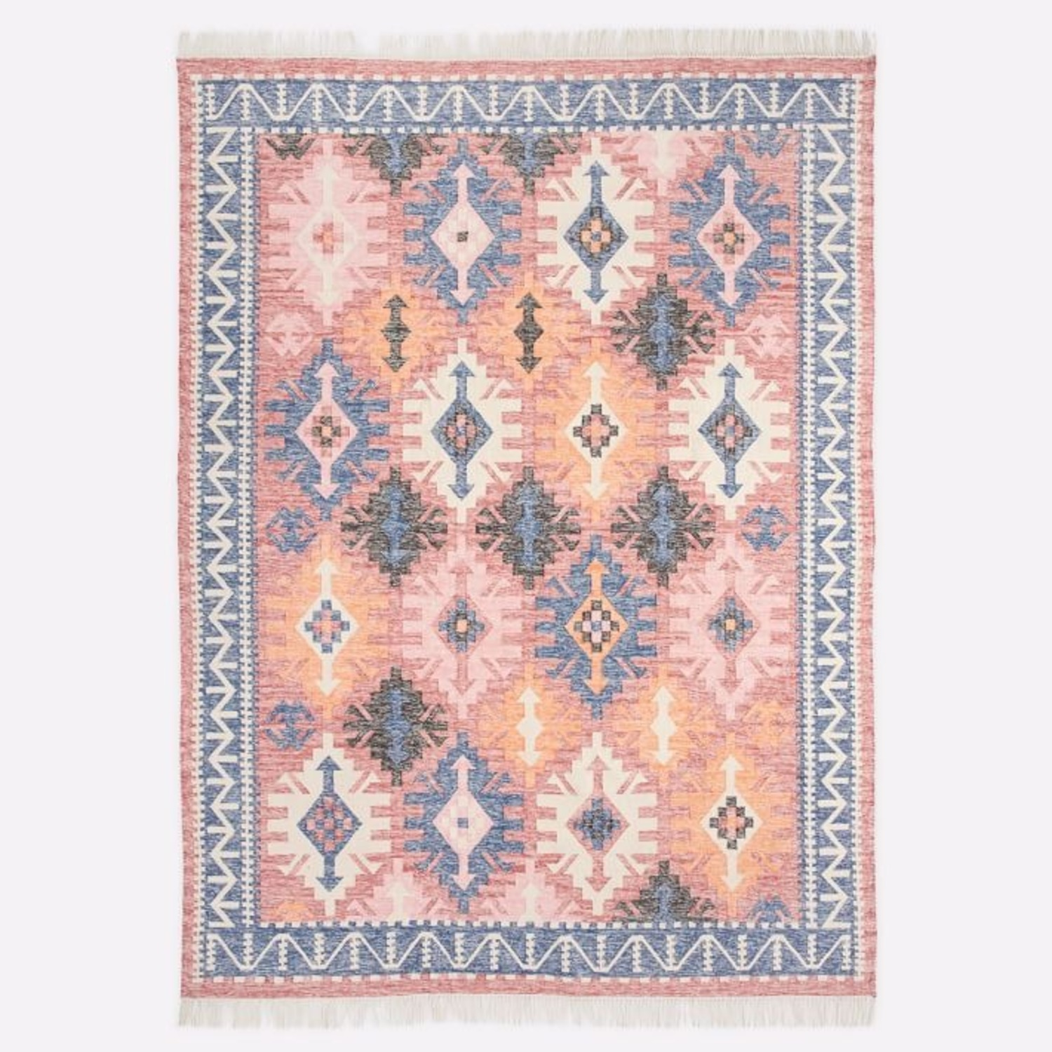 West Elm Framed Arrows Indoor/Outdoor Rug - image-1