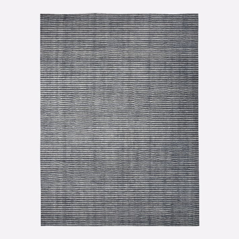 West Elm Terra Stripes Rug, Slate - image-2