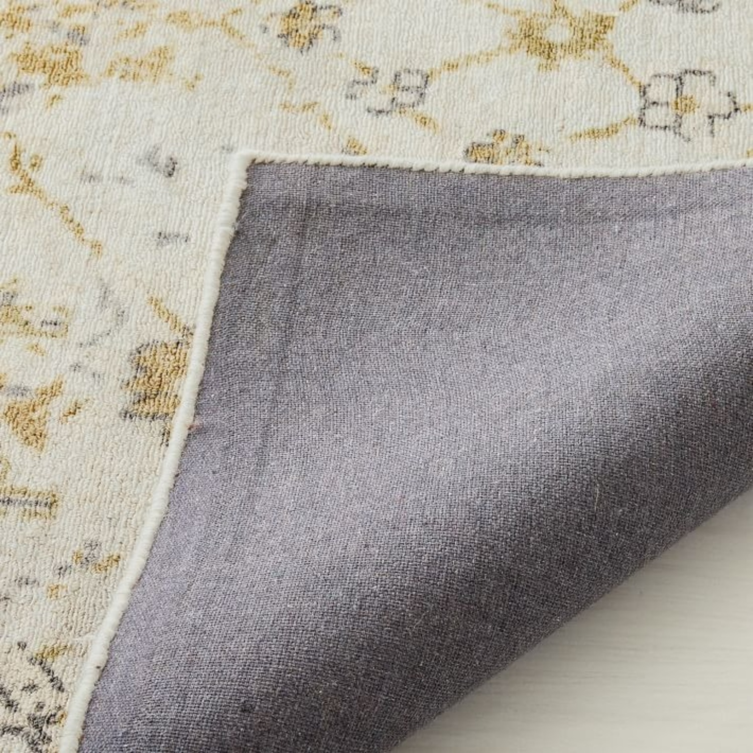 West Elm Printed Canopy Rug, Frost Gray - image-2