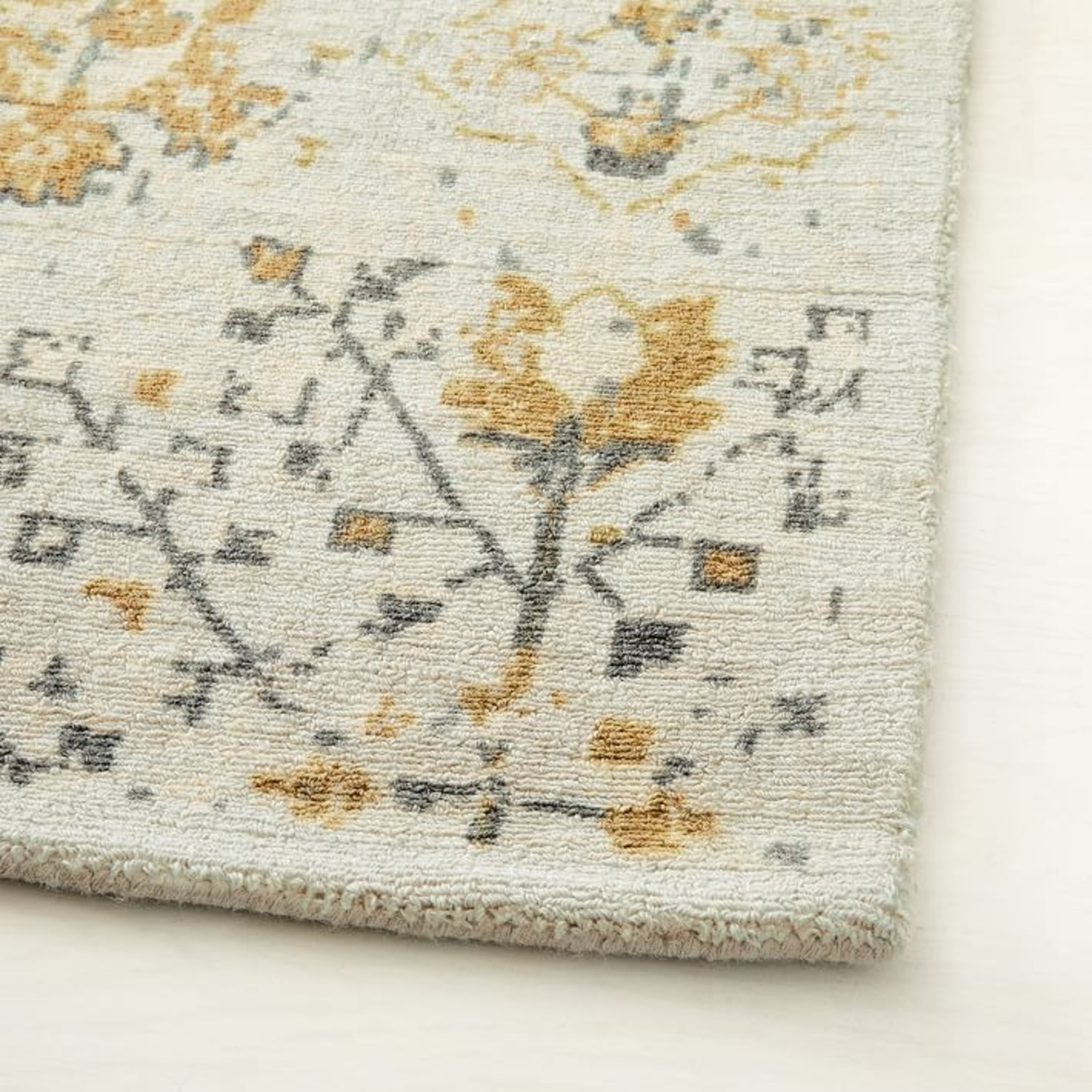 West Elm Printed Canopy Rug, Frost Gray - image-3