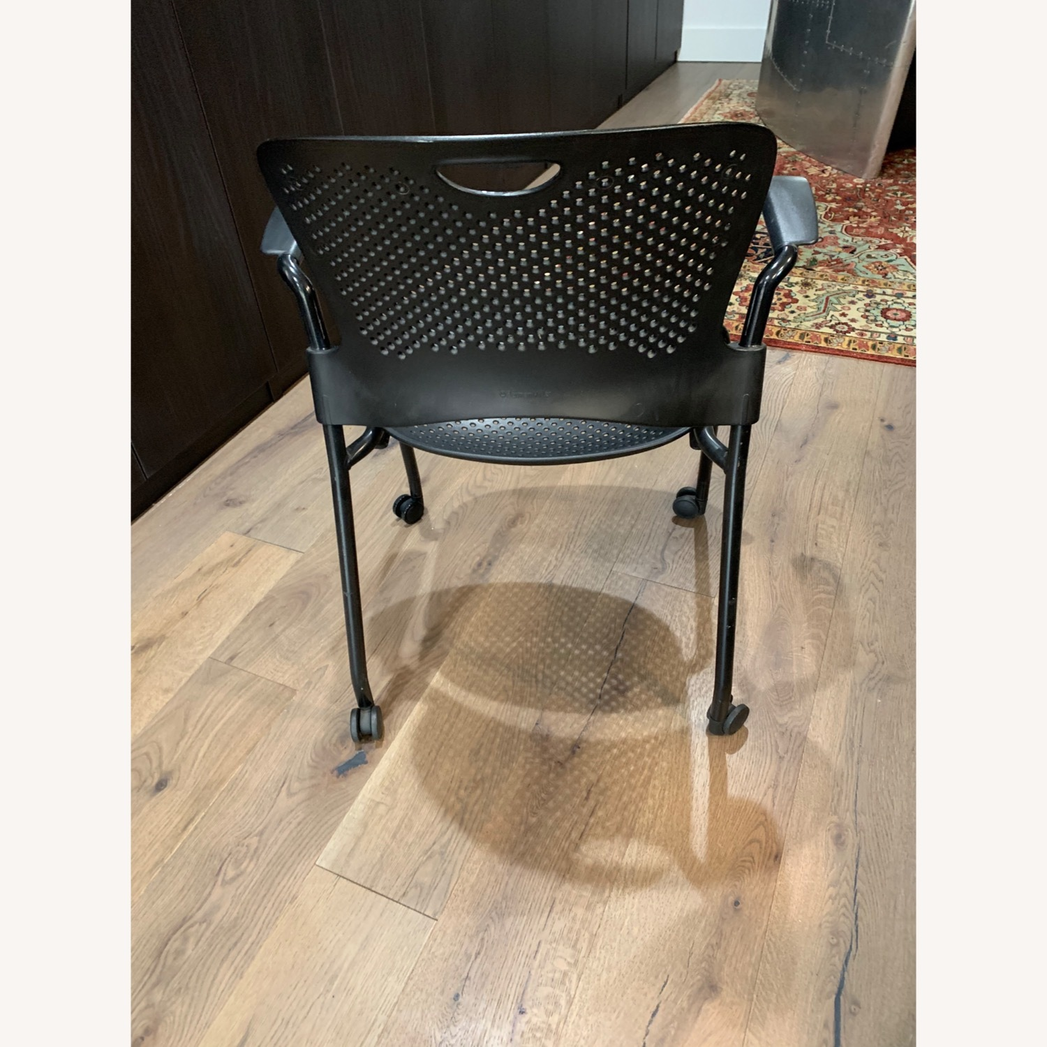 Herman Miller Caper Stacking Chair - Set of Four - image-7