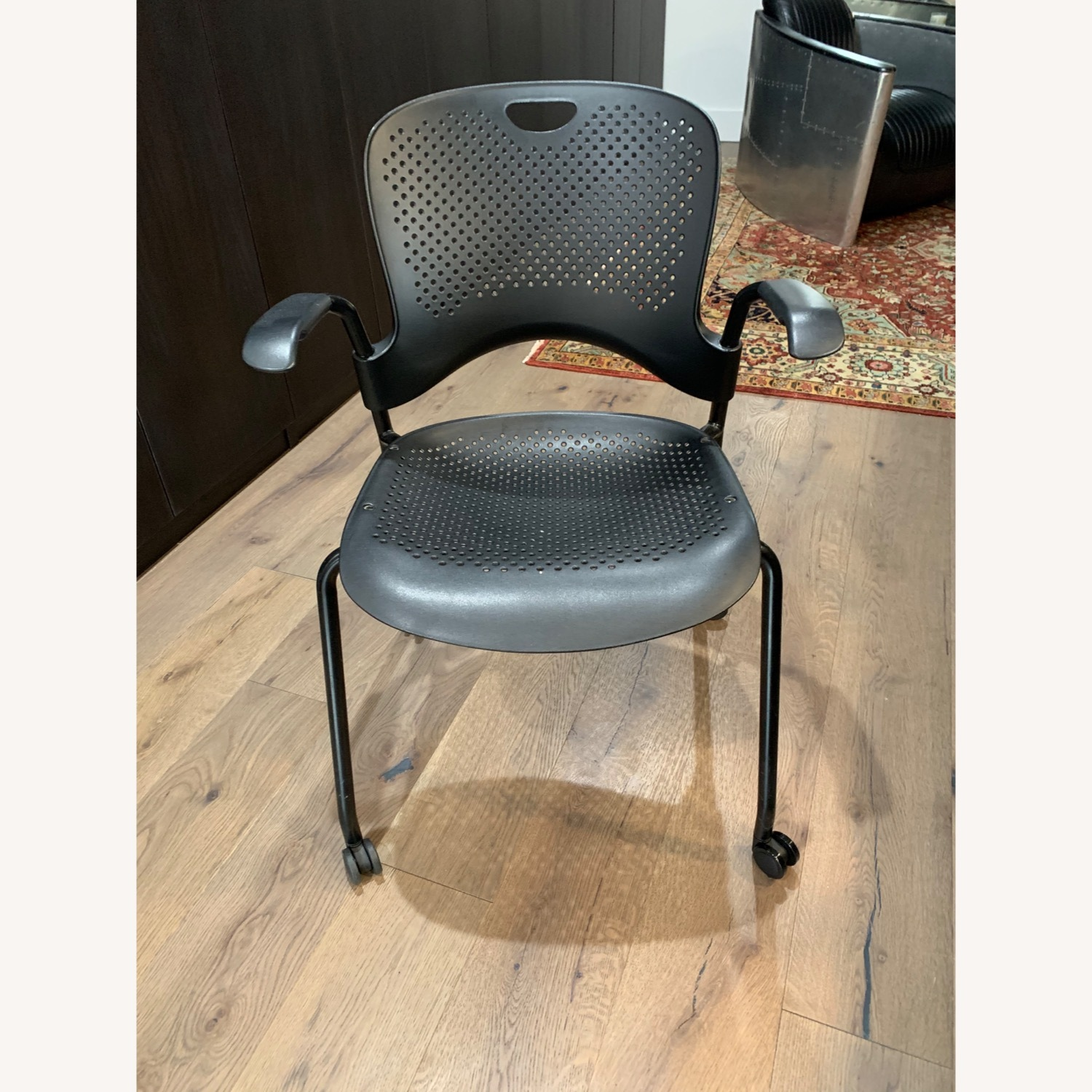 Herman Miller Caper Stacking Chair - Set of Four - image-5