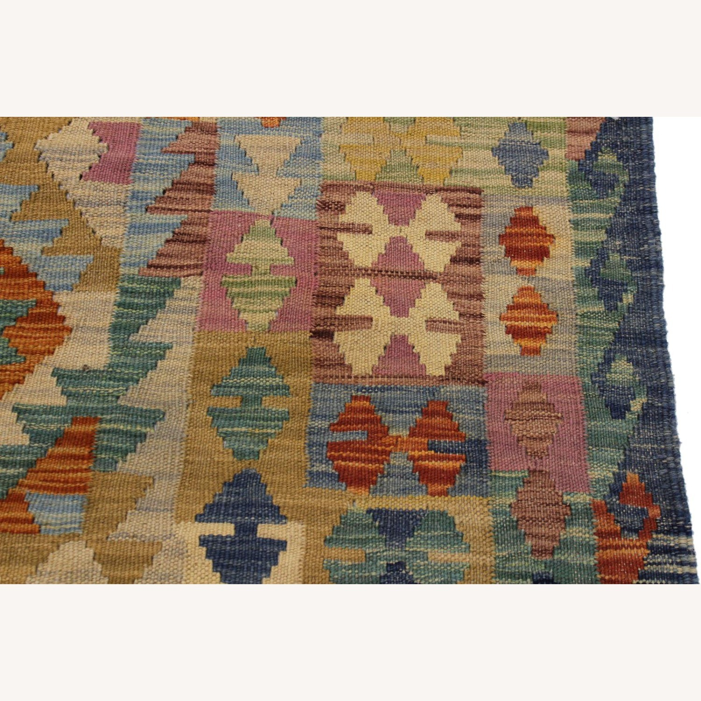 "Arshs' Fine Rugs Retro Vintage Kilim Wool Rug - 6'7"" x 9'11"" - image-5"