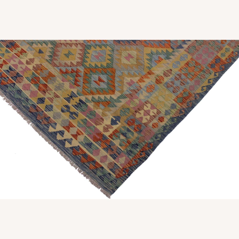 "Arshs' Fine Rugs Retro Vintage Kilim Wool Rug - 6'7"" x 9'11"" - image-3"