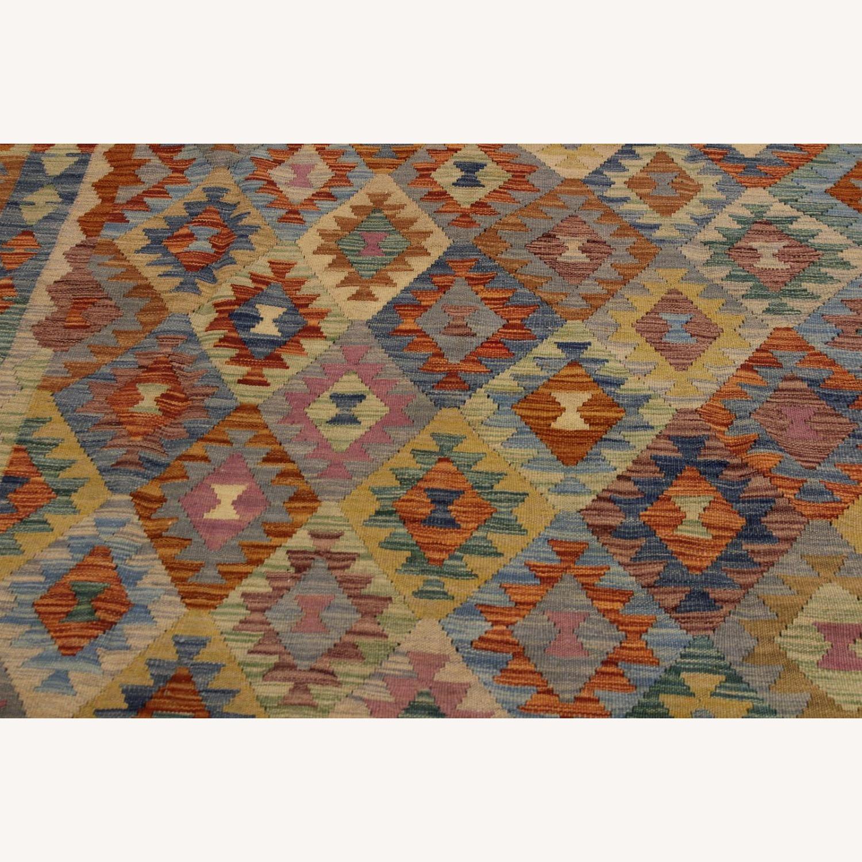 "Arshs' Fine Rugs Retro Vintage Kilim Wool Rug - 6'7"" x 9'11"" - image-4"