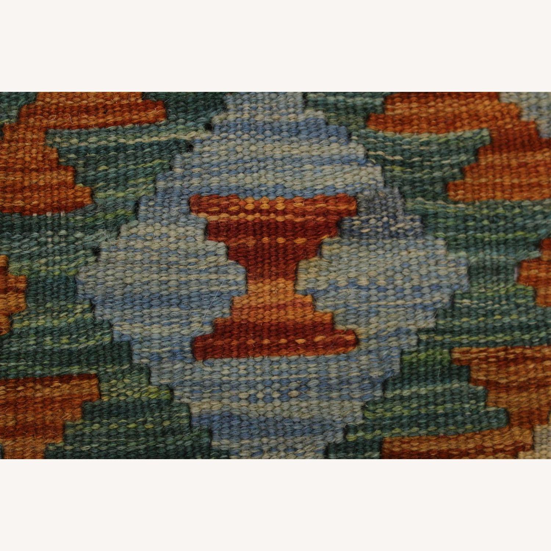 "Arshs' Fine Rugs Retro Vintage Kilim Wool Rug - 6'7"" x 9'11"" - image-6"