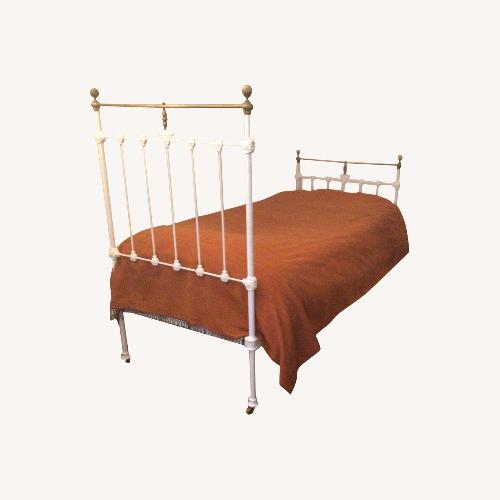 Used Vintage Iron Trundle Bed for sale on AptDeco