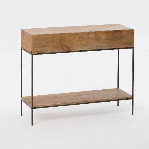 Used West Elm Industrial Storage Console for sale on AptDeco