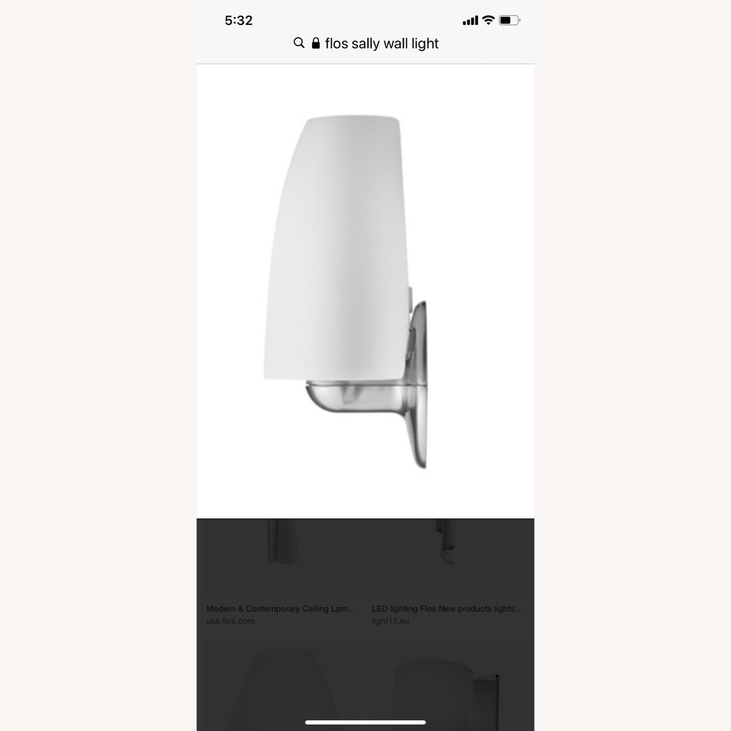 Flos Sally Sconce by Marcello Zilliani - image-2