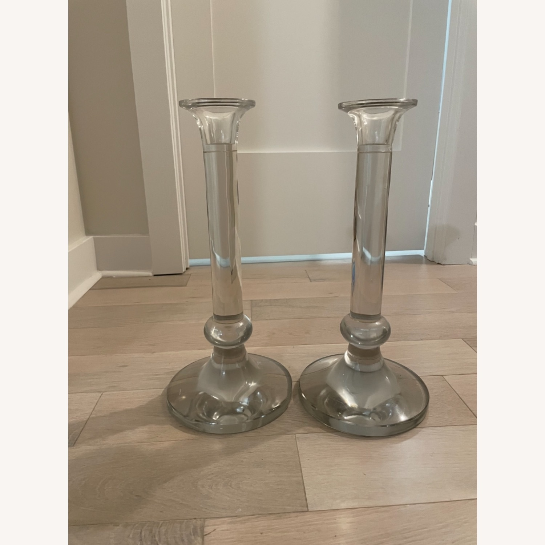 Large Crystal Candlesticks - image-2