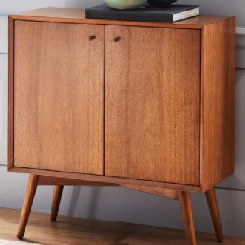 Used West Elm Mid Century Bar Cabinet for sale on AptDeco