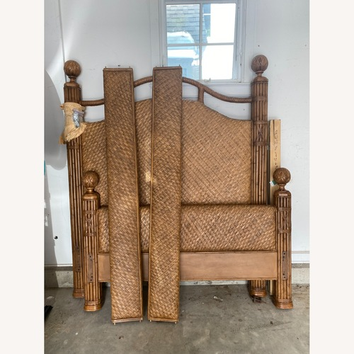 Used Robb and Stucky Queen Bed for sale on AptDeco