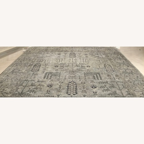 Used ABC Carpet and Home 9x12 Sultanabad Grey Rug for sale on AptDeco