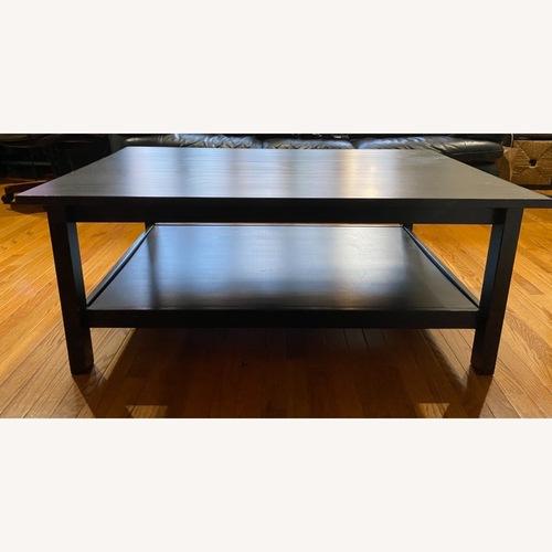 Used IKEA Black Coffee Table for sale on AptDeco
