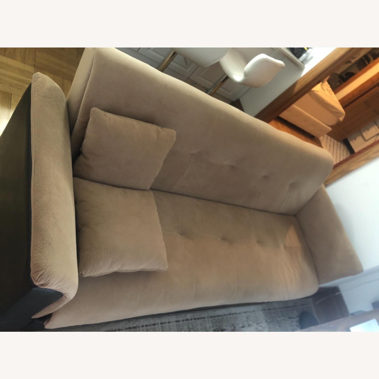 Wayfair Avah Wide Round Arm Convertible Sofa - image-1