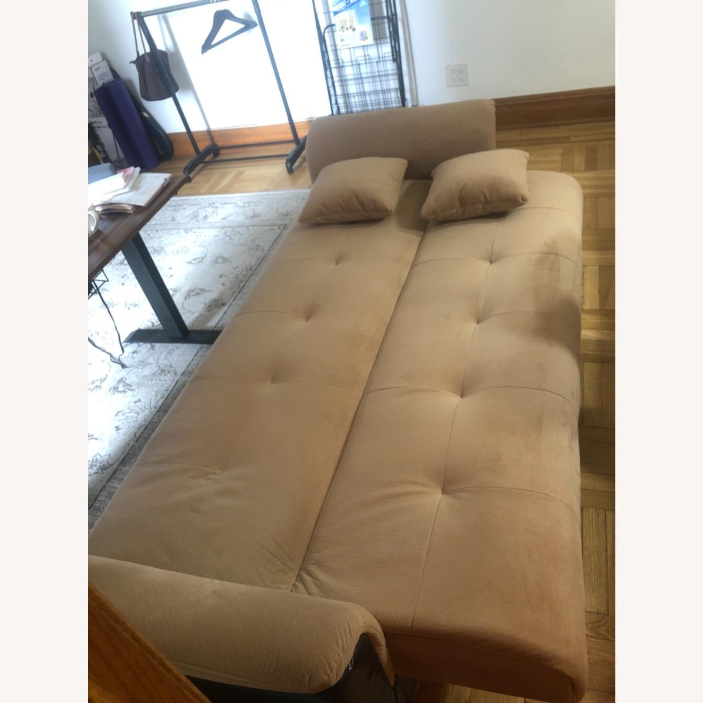 Wayfair Avah Wide Round Arm Convertible Sofa - image-3
