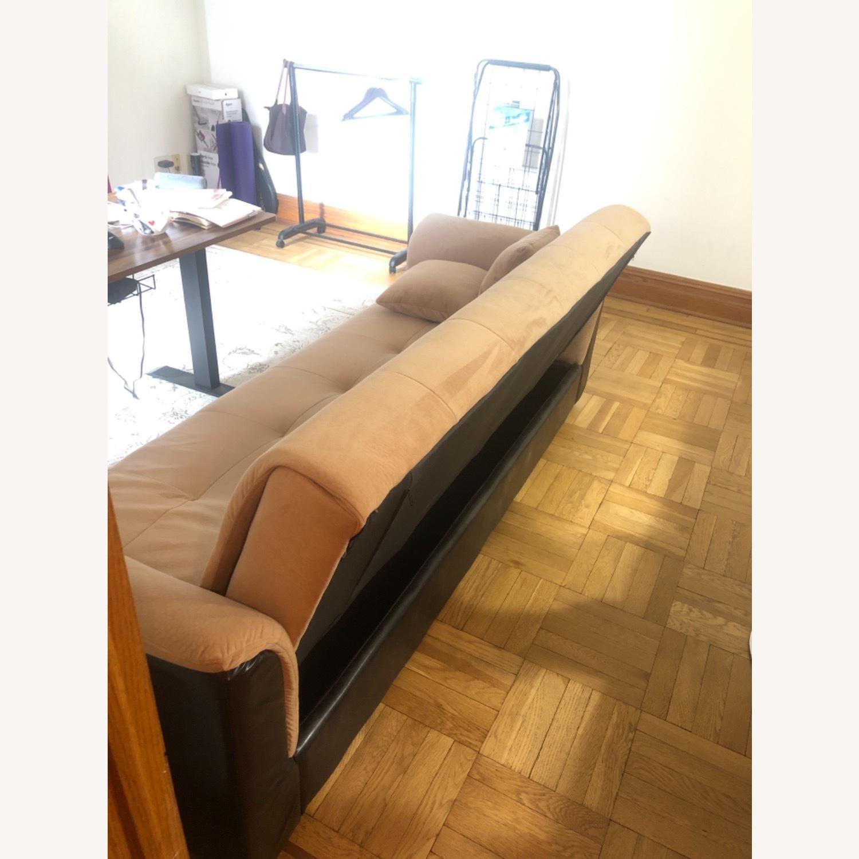Wayfair Avah Wide Round Arm Convertible Sofa - image-2