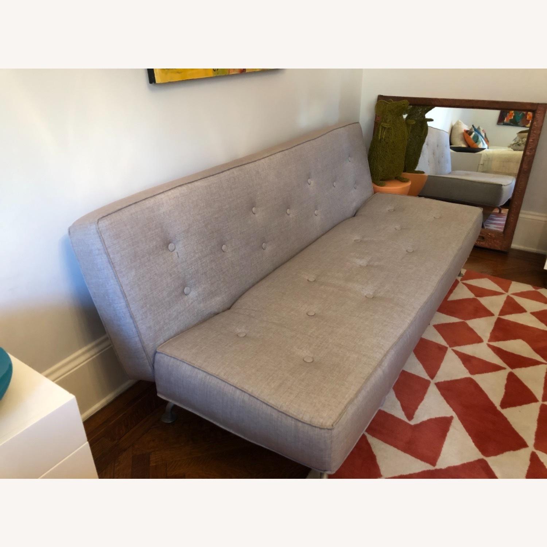 Versace Furniture Sofa Bed Grey Sazza Fabric - image-3