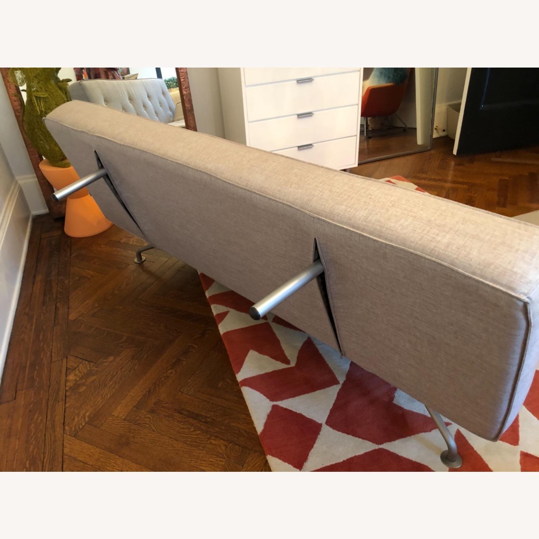Versace Furniture Sofa Bed Grey Sazza Fabric - image-4