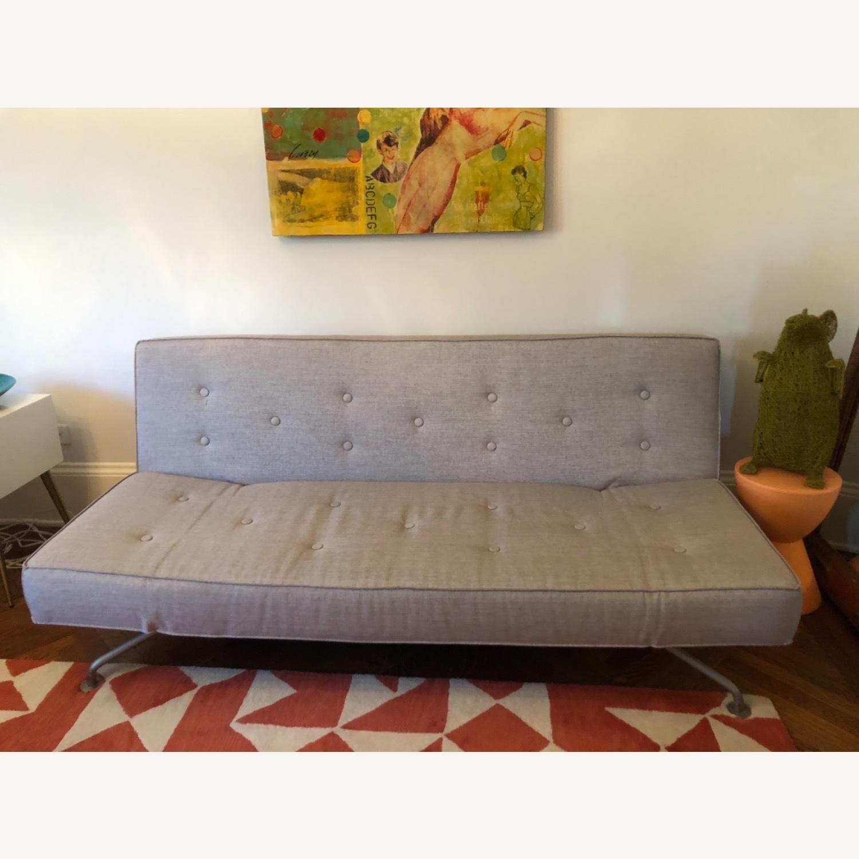 Versace Furniture Sofa Bed Grey Sazza Fabric - image-1