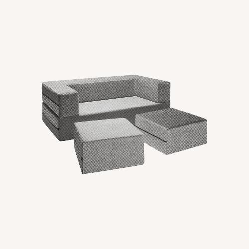 Used Jaxx Zipline Loveseat Sleeper Sofa for sale on AptDeco