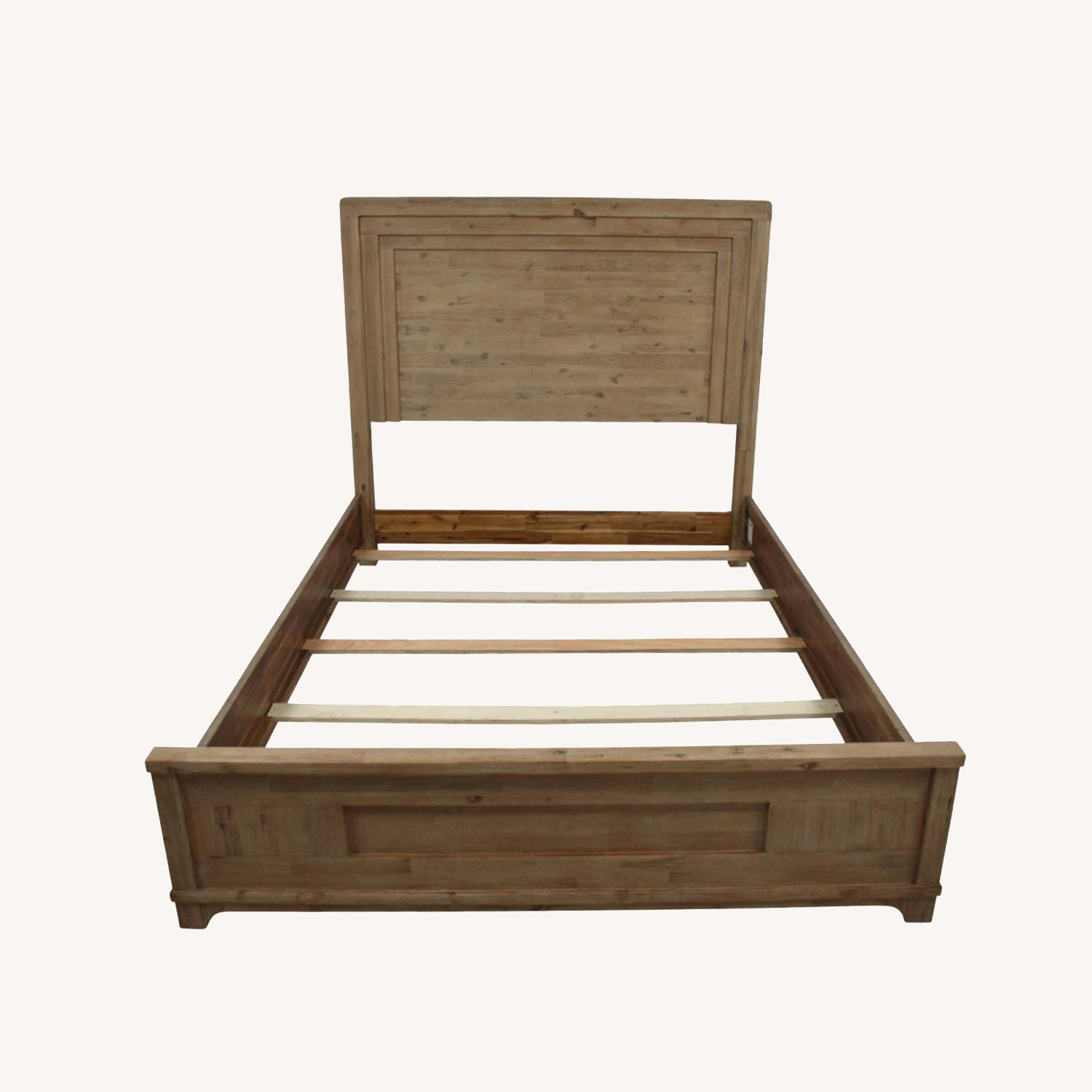 Casana Natural Wood Queen Bed frame - image-0