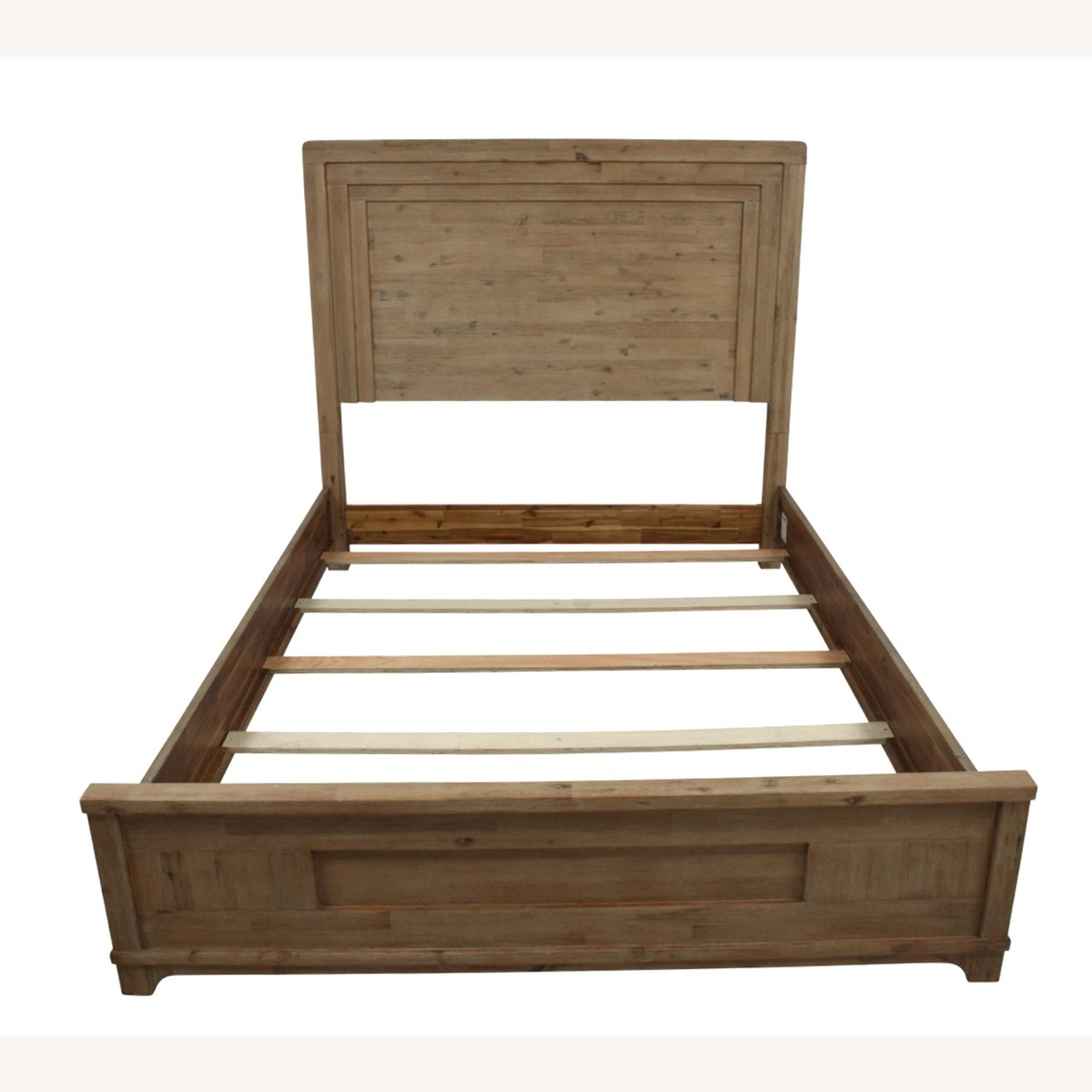 Casana Natural Wood Queen Bed frame - image-1