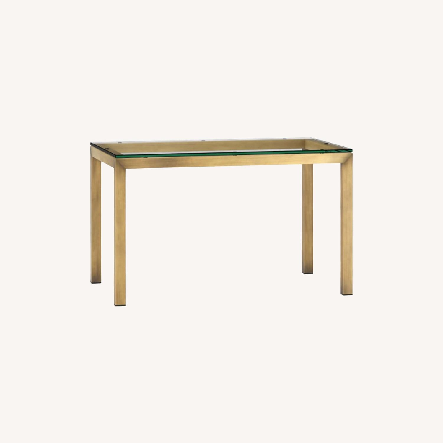 Crate & Barrel Parsons Dining Table - image-0