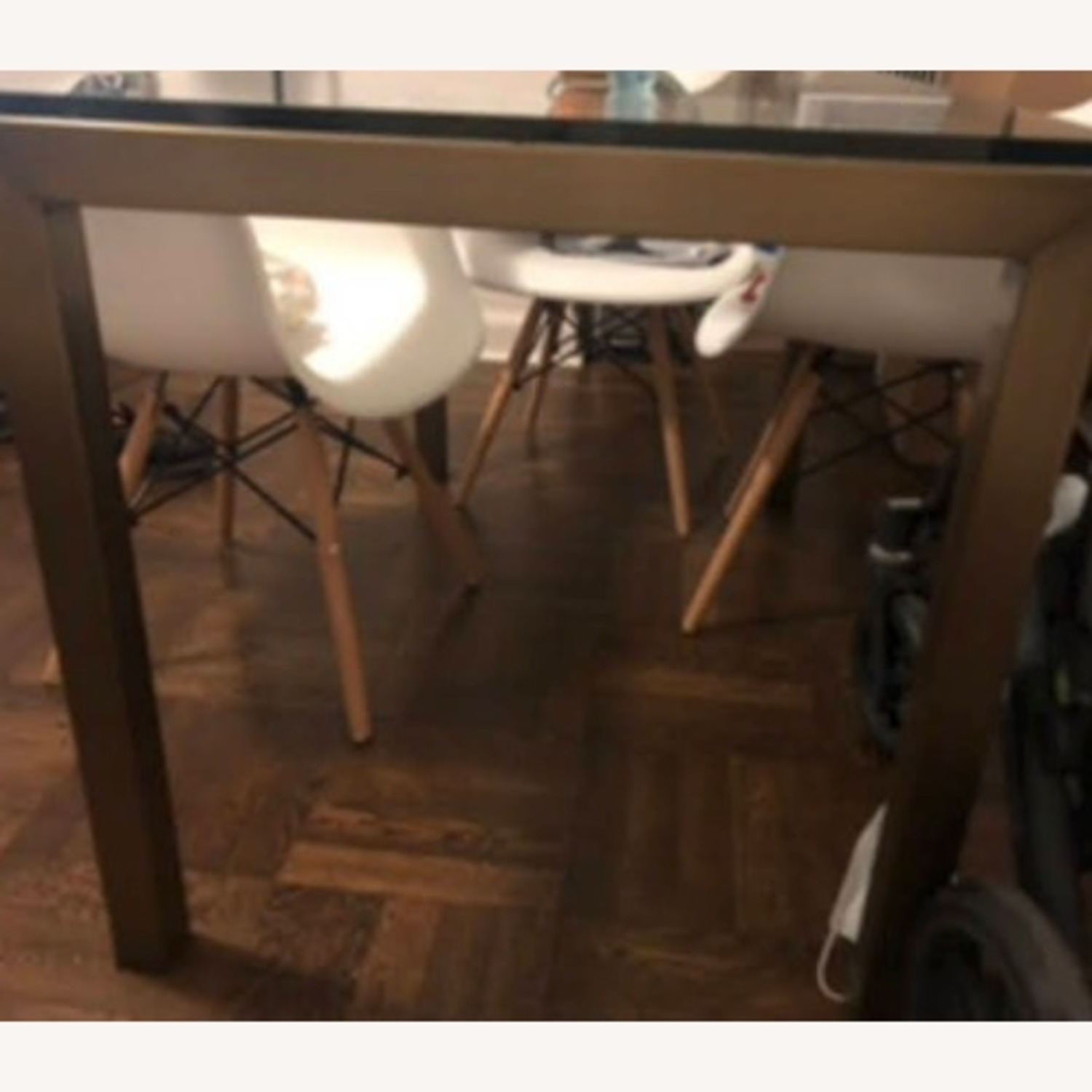 Crate & Barrel Parsons Dining Table - image-3