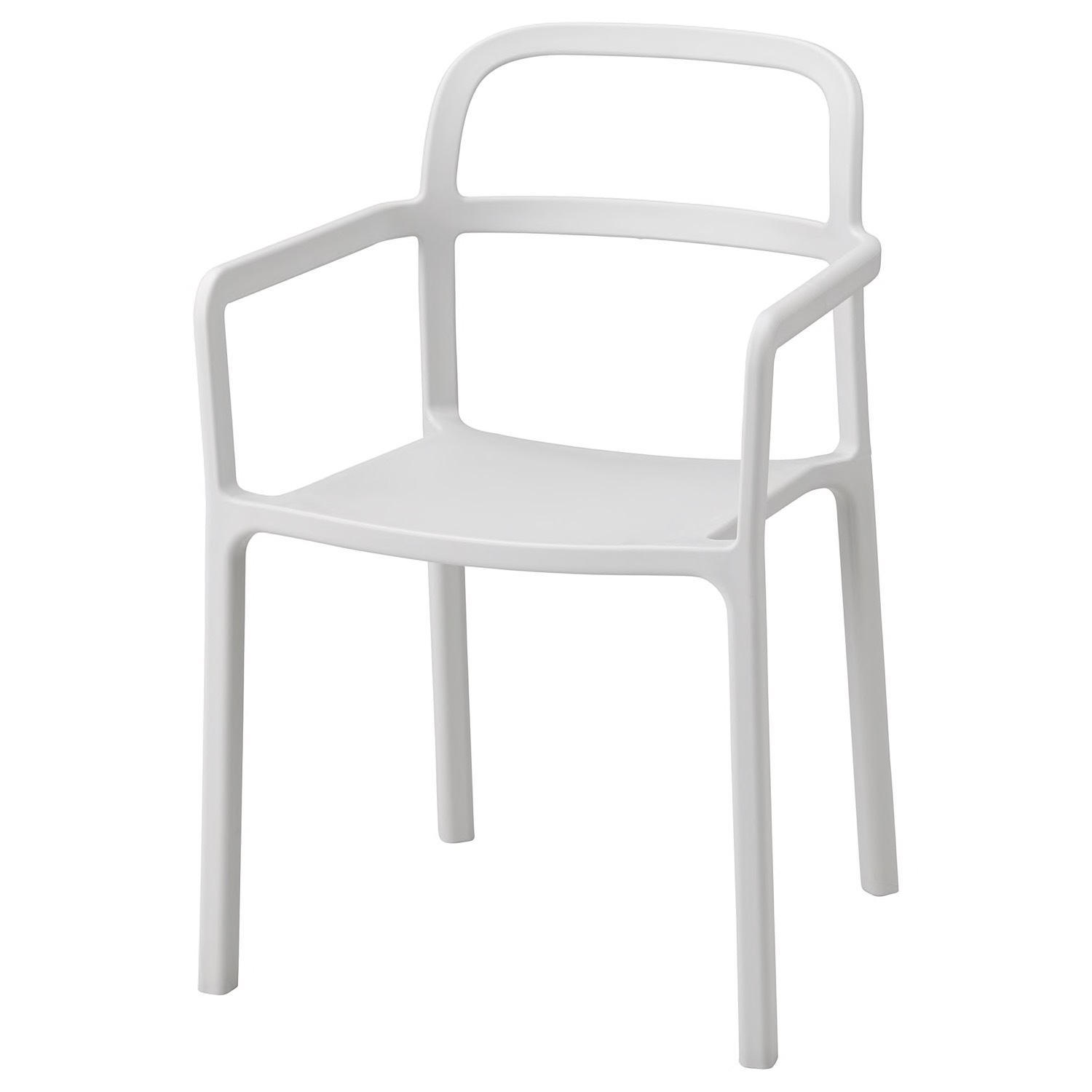 IKEA YPPERLIG Chair with Armrests, in/outdoor - image-7
