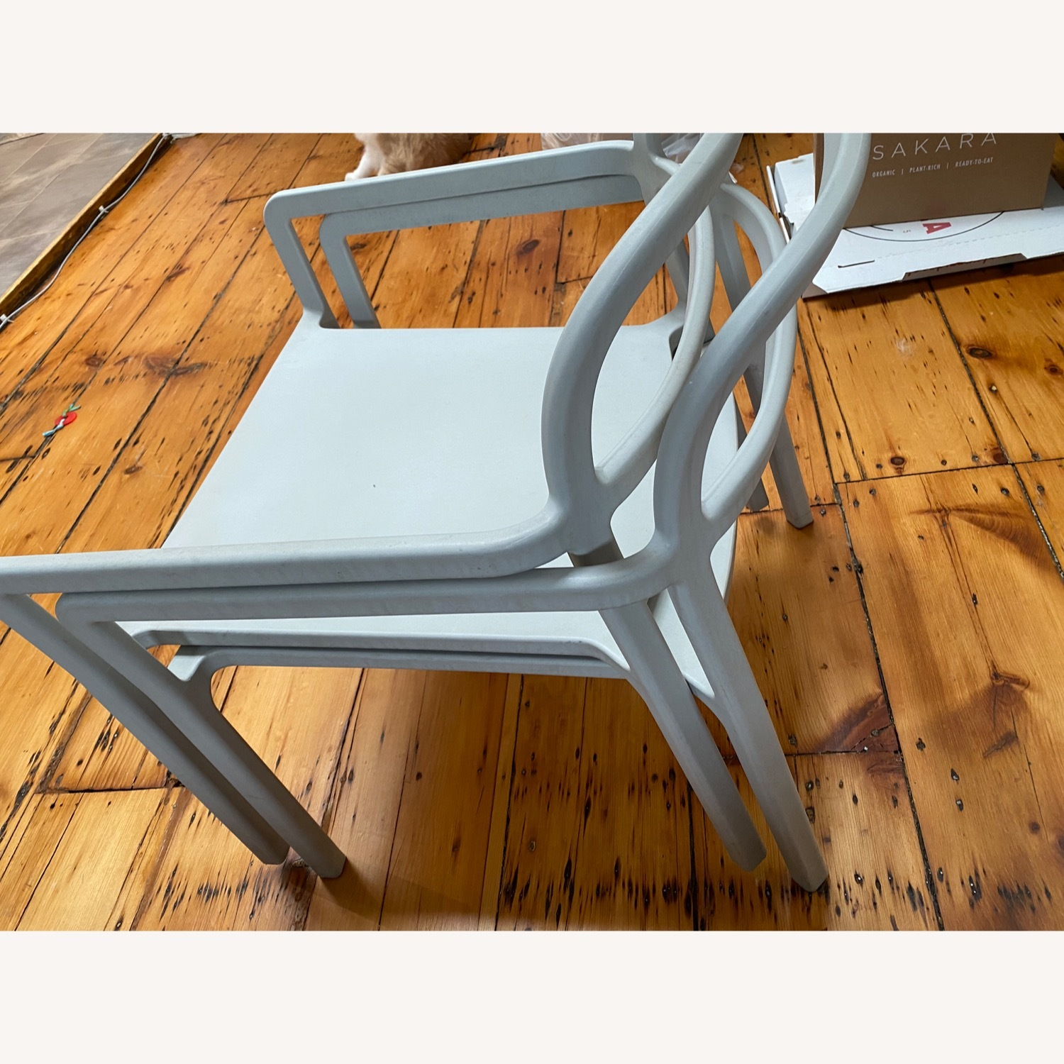 IKEA YPPERLIG Chair with Armrests, in/outdoor - image-3