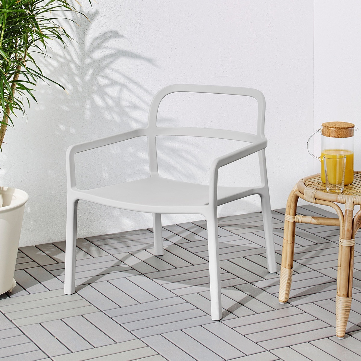 IKEA YPPERLIG Chair with Armrests, in/outdoor - image-0