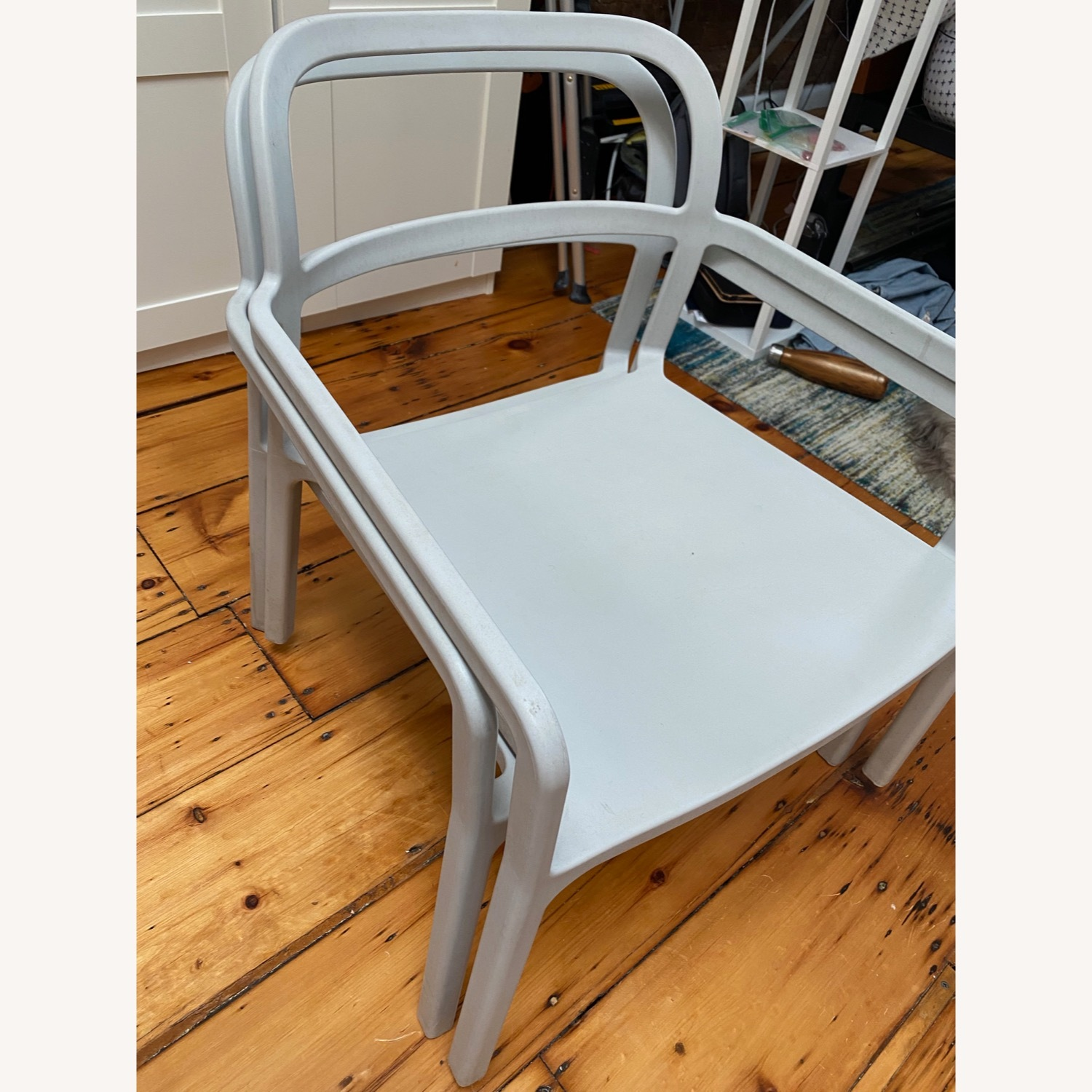 IKEA YPPERLIG Chair with Armrests, in/outdoor - image-4