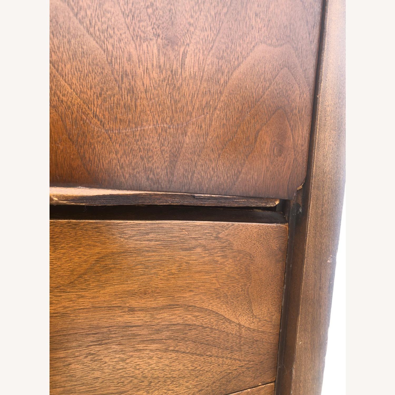 Mid Century Modern Highboy Dresser in Walnut - image-15