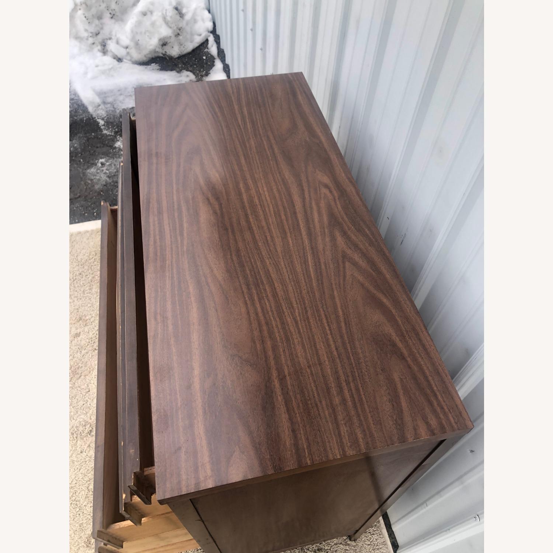 Mid Century Modern Highboy Dresser in Walnut - image-12