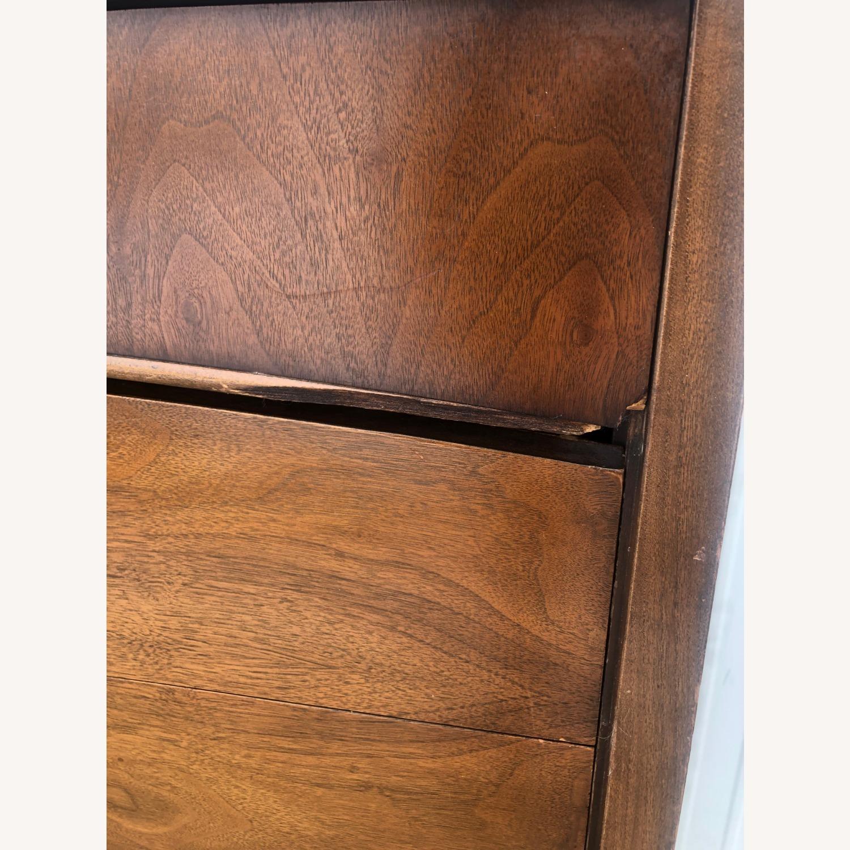 Mid Century Modern Highboy Dresser in Walnut - image-6