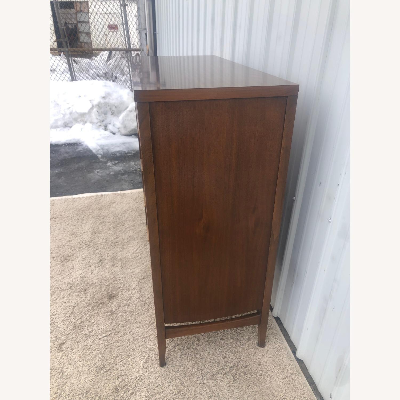 Mid Century Modern Highboy Dresser in Walnut - image-5