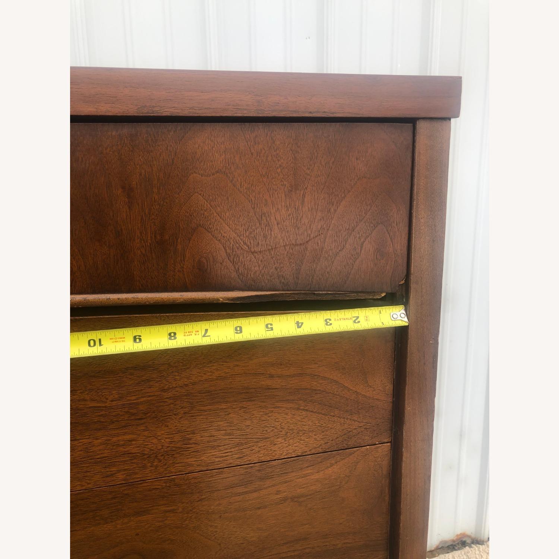 Mid Century Modern Highboy Dresser in Walnut - image-16