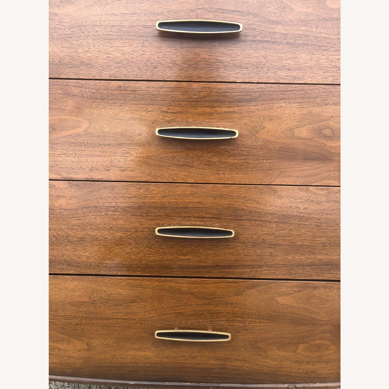 Mid Century Modern Highboy Dresser in Walnut - image-13