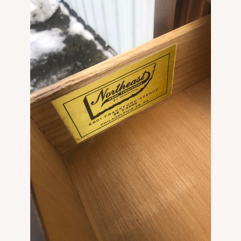 Mid Century Modern Highboy Dresser in Walnut - image-11
