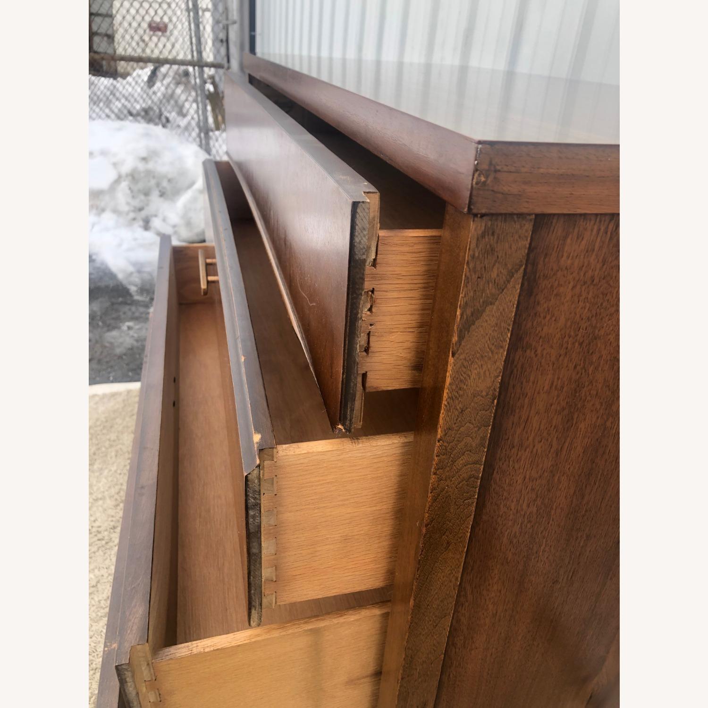 Mid Century Modern Highboy Dresser in Walnut - image-10