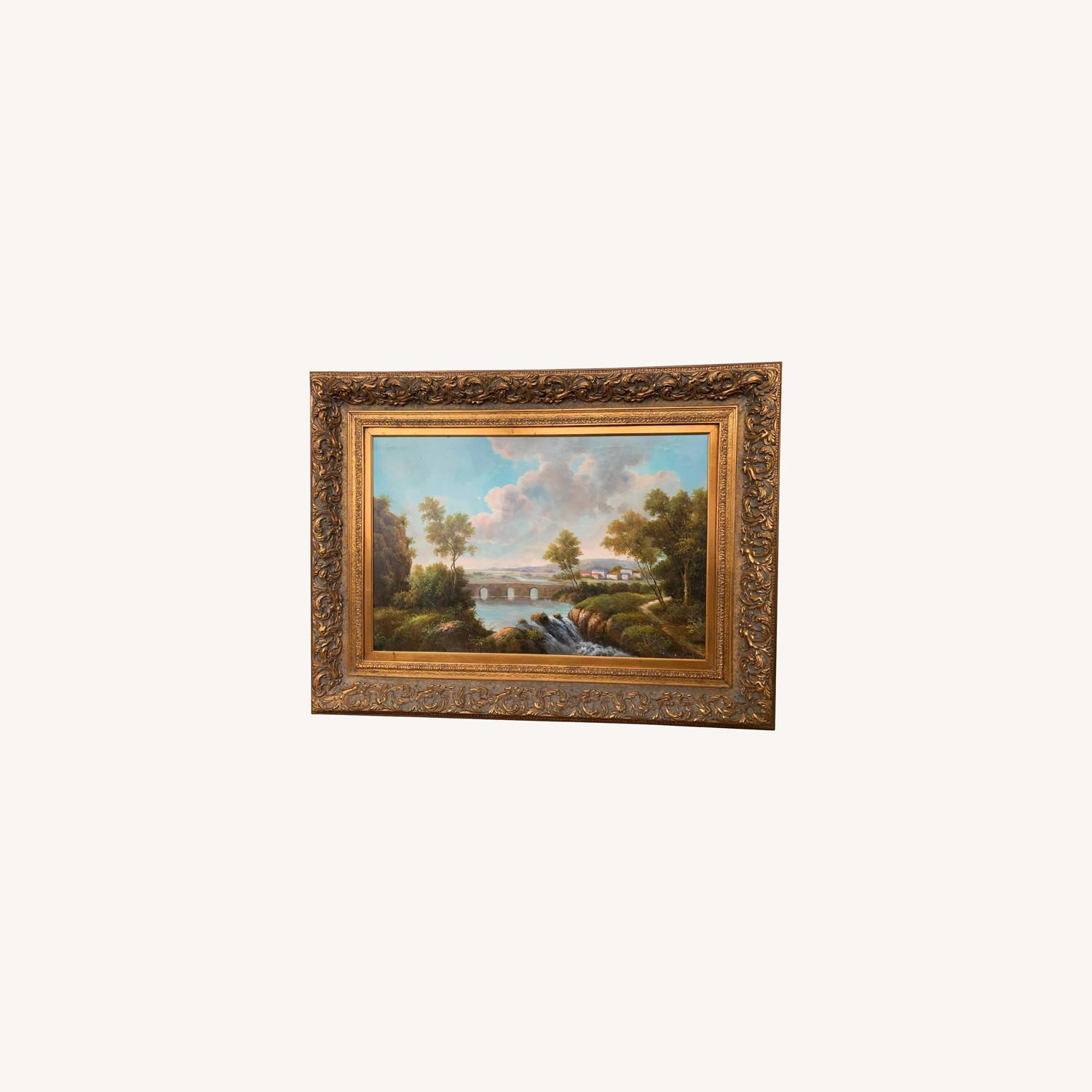 Framed Early 20th Century Oil Painting - G.Henson - image-0