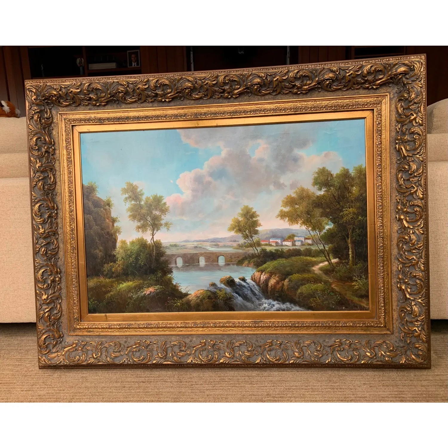 Framed Early 20th Century Oil Painting - G.Henson - image-2