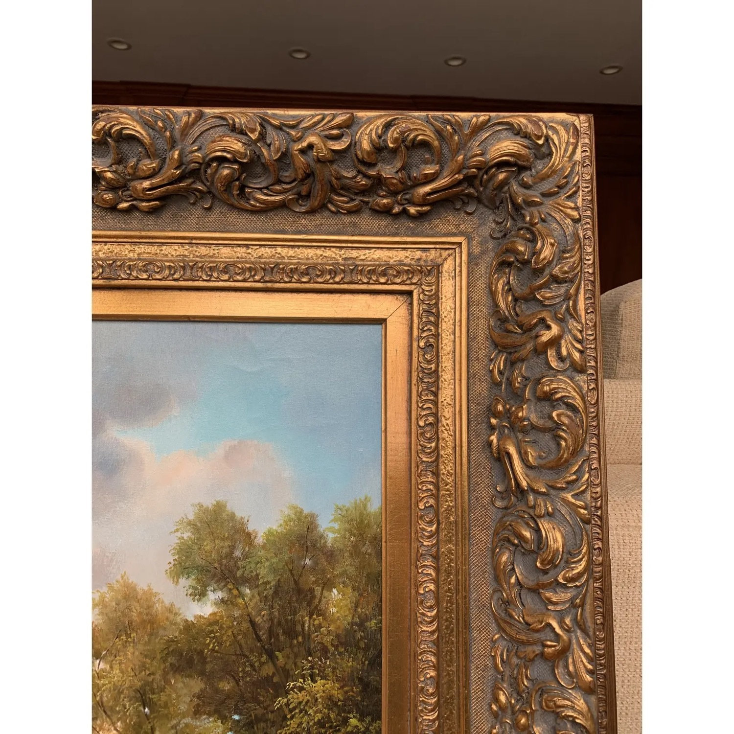 Framed Early 20th Century Oil Painting - G.Henson - image-5