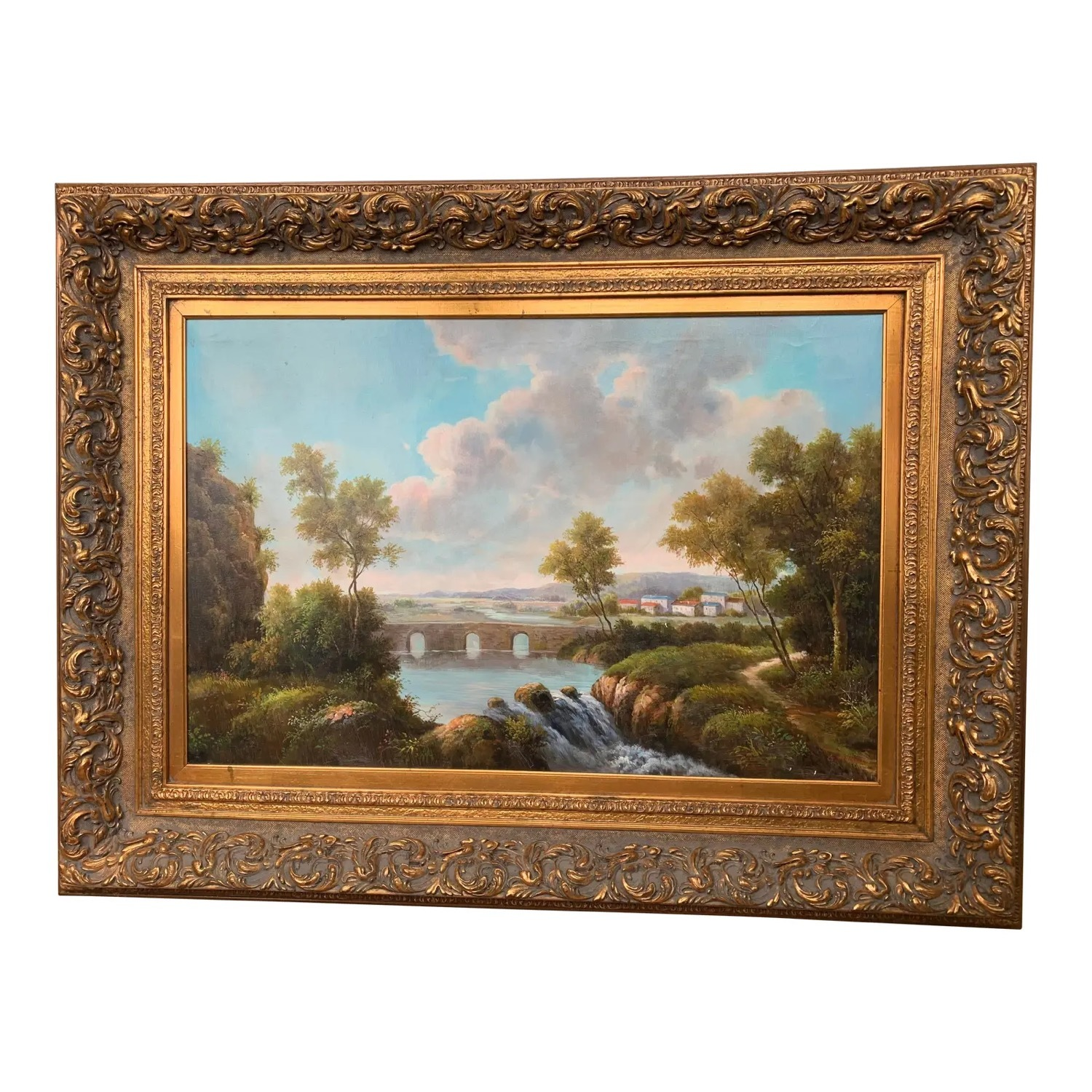 Framed Early 20th Century Oil Painting - G.Henson - image-1