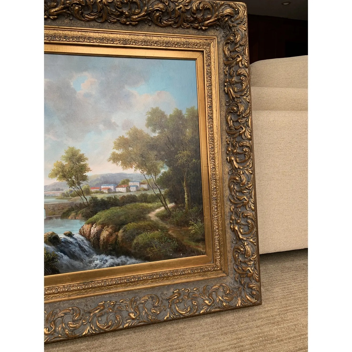 Framed Early 20th Century Oil Painting - G.Henson - image-7